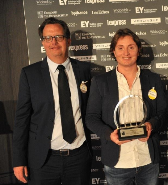 vincent daffourd entrepreneur de l annee EY